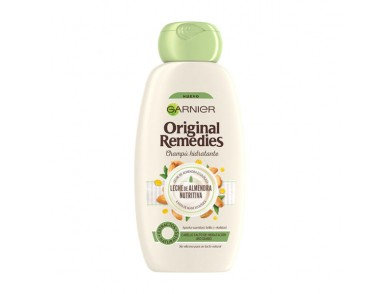 Champô ORIGINAL REMEDIES leche de almendras Garnier (300 ml)