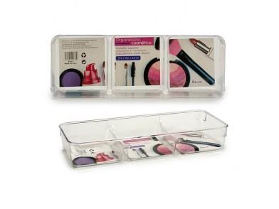Organizador de maquilhagem (10 x 4 x 27,5 cm) Plástico