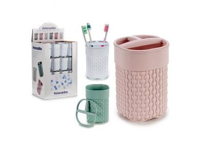 Suporte para a escova de Dentes Multicolor Plástico