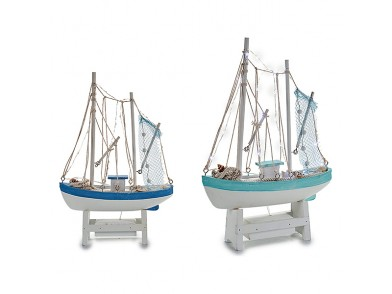 Barco Madeira (8,5 x 41,5 x 28,5 cm)