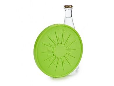 Acumulador de Frio Plástico (17,5 x 1,5 x 17,5 cm) Verde