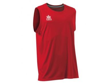 T-Shirt de Alças Luanvi Basket Pol Vermelho