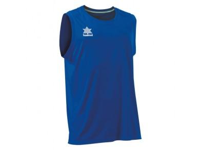 T-Shirt de Alças Luanvi Basket Pol Azul