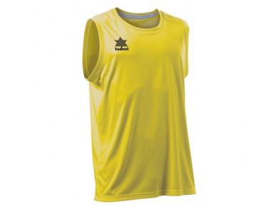 T-Shirt de Alças Luanvi Basket Pol Amarelo
