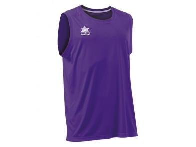 T-Shirt de Alças Luanvi Basket Pol Roxo