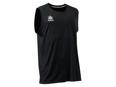 T-Shirt de Alças Luanvi Basket Pol Preto