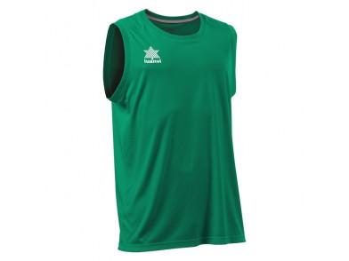 T-Shirt de Alças Luanvi Basket Pol Verde