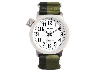 Relógio masculino Ene 345008009 (47 mm)