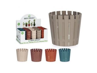 Plantador Plástico (6,5 x 6 x 6,5 cm)