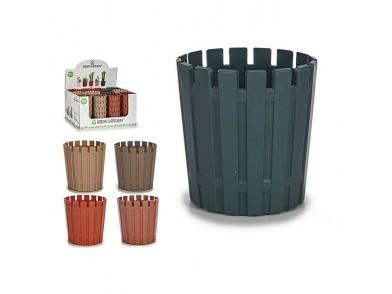 Plantador Plástico (9,5 x 9,2 x 9,5 cm)