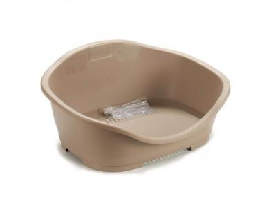 Cama para Animais de Estimação Bege Plástico (56 x 24 x 42 cm)
