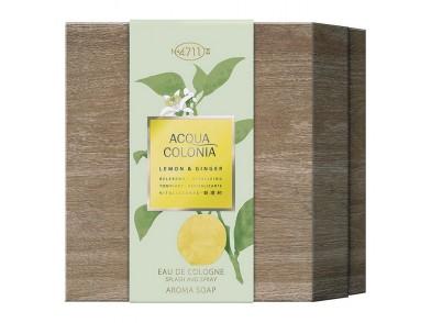 Conjunto de Perfume Unissexo Lemon & Ginger 4711 EDC (2 pcs)