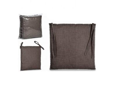Almofada para cadeiras Cinzento Tecido