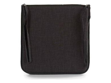 Almofada para cadeiras Tecido Cinzento Escuro
