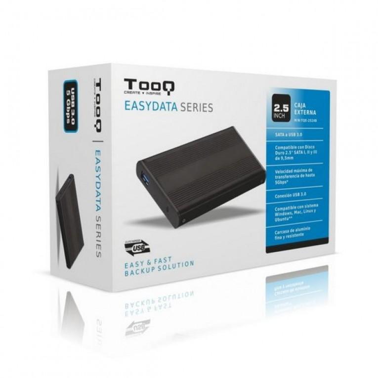 Caixa externa TooQ TQE-2524B HD 2.5